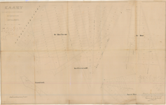 D186 Kaart van eigendommen der gemeente Swalmen in Haambroek, Boschheide, Aan Groeneald, Aan de Riet en De Hout – Akte ...