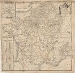 D193 Landkaart van het keizerrijk Frankrijk met aantekening der postwegen en de departementen – Schaal van 1:100.000 ...