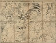 D76 Topografische kaart der omgeving van Roermond, Venlo en het moeras van de Peel – Schaal van 2 Brabantse mijlen – ...