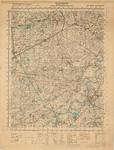 D82 Legerkaart (stafkaart) van Roermond en het gebied ten westen van Roermond – Schaal 1:50.000, c.1940