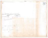 19223-12Z8 [Geen titel] Zij- en bovenaanzicht van de Hasselterbrug, waarschijnlijk een ontwerptekening., 1846