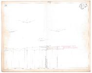 19223-16V25 [Geen titel] Lengte- en dwarsdoorsneden van de Regge ten zuidwesten van Diepenheim. Vermeld worden onder ...