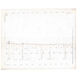 19223-4.4 [Geen titel] Lengtedoorsnede van een deel van het terrein tussen Deventer en Dalmsholte ten behoeve van een ...