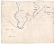 19223-B10.14 [Geen titel] Kaart van de meander van de Vecht ten zuidoosten van Junne en ten zuidwesten van Beerze. ...