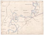 19223-B10.17 [Geen titel] Kaart van de Vecht tussen Rheeze en Hardenberg. Vermeld aan de westzijde: 't Rheezer ...