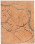 19224-16.1 Genemuiden Kaart van Genemuiden omringd door de Zuiderzee, gemeente Vollenhove, Zwollerkerspel. Veldnamen: ...