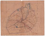 19224-2 Ambt Almelo Kaart van de gemeente Ambt Almelo met rondom de gemeenten Wierden, Vriezenveen, Tubbergen, Stad ...