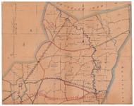 19224-34.1 Losser 1 Kaart van het noordelijk deel van de Losser met rondom de gemeenten Weerselo, Denekamp, Hannovers ...