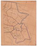 19224-35.2 Markelo 2 Kaart van de gemeenten Ambt Delden en Stad Delden met rondom de gemeenten Markelo, Wierden, Borne ...