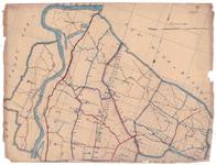 19224-39 Olst Kaart van de gemeente Olst omringd doro gemeente Wijhe en Raalte, Voorst, Epe en Heerde. Rivier de ...
