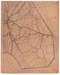 19224-43.2 Raalte 2 Kaart van het noordelijk deel van de gemeente Raalte met rondom de gemeenten Heino, Ommen en ...