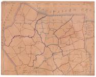 19224-49.1 Tubbergen 1 Kaart van het westelijk deel van de gemeente Tubbergen met rondom de gemeenten Vriezenveeen, ...
