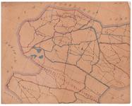 19224-54.1 Weerselo 1 Kaart van de gemeente Weerselo met rondom de gemeenten Hengelo, Borne, Tubbergen, Denekamp en ...