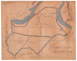 19224-59.2 Zalk en Veecaten Kaart van de gemeente Zalk omringd door gemeenten Zwollerkerspel, Oldebroek, Kamperveen en ...