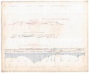19225-B11.5 [Geen titel] Lengtedoorsnede van de Vecht tussen Berkum en Dalfsen, ten zuiden van broekhuizen. Doorsneden ...
