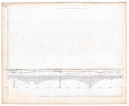 19225-B11.6 [Geen titel] Lengtedoorsnede van de Vecht bij Dalfsen, tussen huis, voormalige havezate De Rutenberg ...
