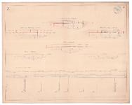 19225-B14.7 [Geen titel] Lengte- en dwarsdoorsneden van de Soestwetering, met voorstellen tot verbetering, ter hoogte ...