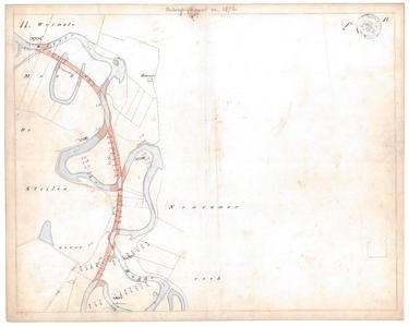 19231-15V11 [Geen titel] Kaartblad van de rivier de Regge ter hoogte van de Rhaander esch, ten westen van Marle, met ...