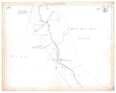 19231-15V19 [Geen titel] Kaartblad van de Regge ten zuiden van Nijverdal. Op de kaart worden vermeld: Waterleiding, ...