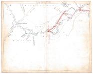 19231-15V23 [Geen titel] Kaartblad van de Regge ten noordoosten van het centrum van Rijssen, met ontwerp voor ...