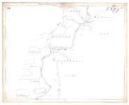19231-15V31 [Geen titel] Kaartblad van de Regge ten noorden van Goor en de huidige N347. Vermeld worden: Weg van Goor ...