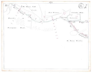 19231-17Y22 [Geen titel] Kaartblad van de Schipbeek, ten zuiden van het huidige Twentekanaal. Op de kaart worden ...
