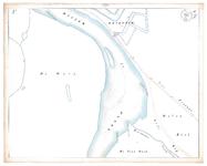 19231-17Y2A [Geen titel] Kaartbllad van de IJssel en een deel van de stadsgracht aan de zuidkant van Deventer. Vermeld ...
