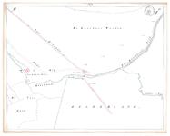 19231-17Y3A [Geen titel] Kaartblad van de Koerhuizer beek ten zuiden van Deventer. Vermeld worden: Koerhuis weiden, weg ...