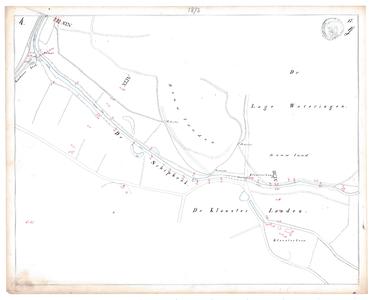 19231-17Y4 [Geen titel] Kaartblad van de Schipbeek ter hoogte van het huidige bedrijventerrein Klossterlanden in ...