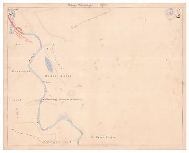 19231-22X10 [Geen titel] Kaartblad van de Dinkel ten zuiden van Mekkelhorst (ten noorden van het huidige ...