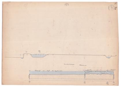 19231-Y10 [Geen titel] Dwarsdoorsneden die corresponderen met de lengtedoorsnede van de Bolksbeek. Vermeld worden: ...