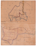 19224-18 Goor [en] Tubbergen 3 Twee kaarten op een vel die niets met elkaar te maken hebben van bovenaan Goor (nummer ...