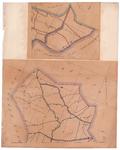 19224-30.2 Kampen 2 [en] Weerselo 2 Twee kaarten op een blad die niets met elkaar te maken hebben. Bovenste kaart geeft ...