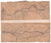 19224-C15.18-20 Regge no. 18 [en] Regge no. 20 Twee kaartbladen op een vel van de Regge bij Nijverdal, vanaf de ...