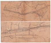 19224-C17.5-7 No. 5 Diepvenveen en Bathmen [en] Bathmen no. 7 Twee kaartbladen op een vel. Nummer 5 Diepenveen en ...