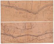 19224-C17.8-6 Bathmen no. 8 [en] Bathmen no. 6 Twee kaartbladen op een vel van de Schipbeek in de omgeving van Bathmen. ...