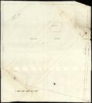 1413 [Geen titel] Globale schetsen van de marke Haerst, opgemaakt in verband met de aanleg van het Lichtmiskanaal. Met ...