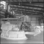 401 FDSTORK-22256 Polder-Pompen. Het gemaal De Kloog van Kuffeler of De Blocq van Kuffeler . Verticale pomp in betonnen ...