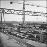 414 FDSTORK-22289 Polder-Pompen. Bouwput Pompgemaal Zwartsluis., 1962-00-00