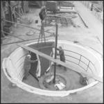 420 FDSTORK-22295 Polder-Pompen. Gietvorm inlaatstuk. Balbpompen IJmuiden., 1962-00-00