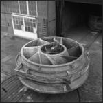 422 FDSTORK-22297 Polder-Pompen. Gietvorm inlaatstuk. Balbpompen IJmuiden., 1962-00-00