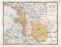 1051-A Provincie Overijssel met aanduiding van de verschillende Waterschappen, dijksdistricten en polders 1884. 1 ...