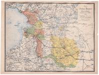 1051-B Provincie Overijssel met aanduiding van de verschillende Waterschappen, dijksdistricten en polders 1884. 1 ...