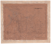 1052-A OVERIJSSEL | ONTWORPEN EN GETEEKEND | door | J. KUIJPER. 1 kaart. Onder de kaart 'Kopergravure door van Baarsel ...