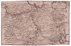 17 Ditio | TRANS-ISULANA. 1 kaart. Ongekleurd. Lijkt bijgesneden., 1660 Coördinaten binnen de randen. Westen boven. ...
