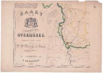 1940-3 KAART | van de | PROVINCIE | OVERIJSSEL | uitgegeven onder toezigt | van | Dr D. Bierens de Haan | ...