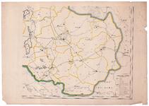 1940-4 KAART | van de | PROVINCIE | OVERIJSSEL | uitgegeven onder toezigt | van | Dr D. Bierens de Haan | ...
