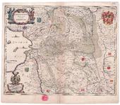 855-A TRANSISELANIA | DOMINIVM | vernaculè |OVER-YSSEL. 1 kaart. Grensgekleurd. Linksonder cartouche met opdracht aan ...