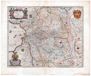 855-B TRANSISELANIA | DOMINIVM | vernaculè |OVER-YSSEL. 1 kaart. Gekleurd. Linksonder cartouche met opdracht aan ...