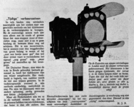 10578 FDHEEMAF021183 Artikel uit Autokampioen van 03-11-1934 betreffende HEEMAF verkeersregelinstallatie, 1934-11-05